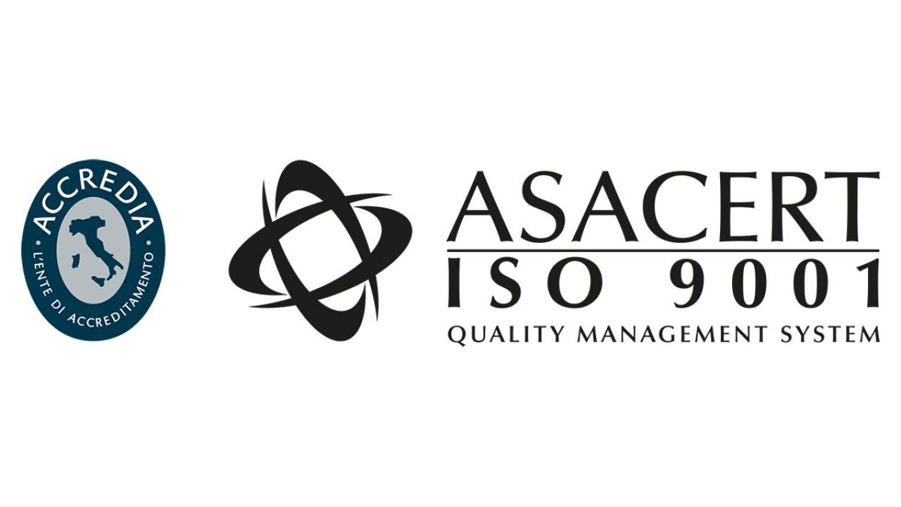 Certificazione ASACERT ISO 9001