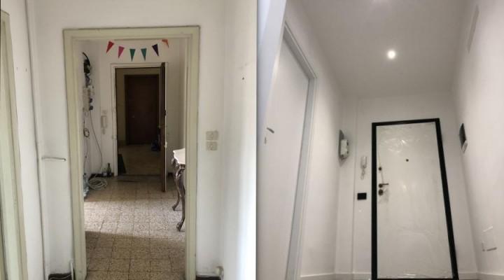 Manutenzione straordinaria di un appartamento in via Digione a Pavia